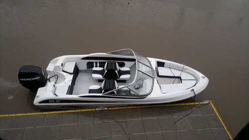 lancha tango 4,7 m c mercury 40 hp 4 tiempos todo okm oferta