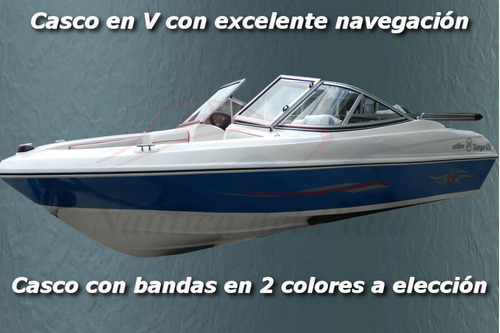 lancha tango 470 open 3v equipada nueva a precio de usada