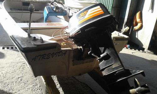lancha tarrab con tohatsu 35 arranque electrico y trailer