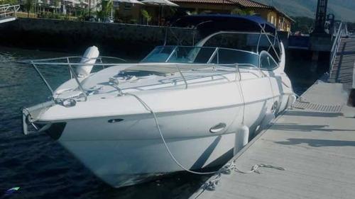 lancha technoboats 33 pés a diesel ano 2009