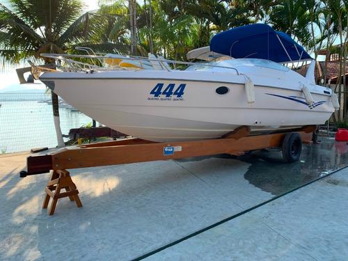lancha tecnoboats futura 8.0 - 26 pés