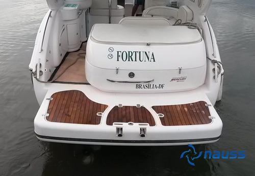 lancha tecnoboats noble 33 parelha mercruiser 5.0 !