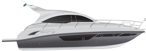 lancha tethys 41ht - diesel
