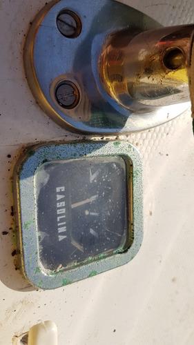 lancha tipo jetboat 30hp com partida elétrica e som