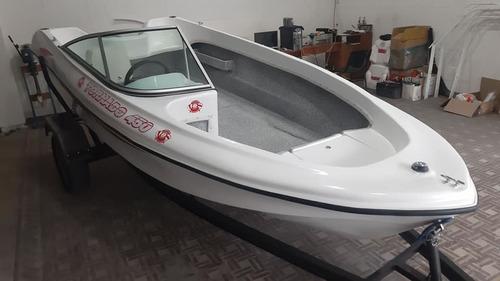 lancha tornado 450 pescadora sin trailer u$s 2085 y u$s 2365