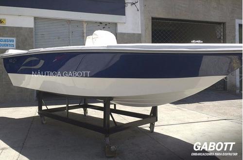 lancha tracker 490 nuevas casco sin motor oferta 0km gabott