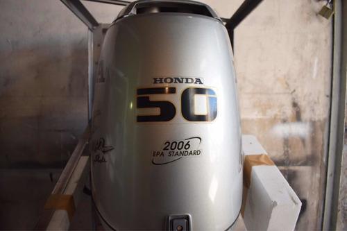 lancha tracker 530 con motor honda 50hp 4t usada