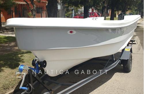 lancha tracker 530 con motor yamaha 50 hp 4t pescadora 0km