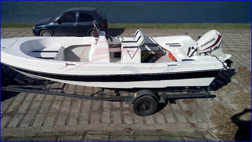 lancha tracker 550 fishing matrizado motor ecologico 60 hp