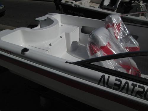 lancha tracker albatros 530 open  mercury 40hp 2t elo super