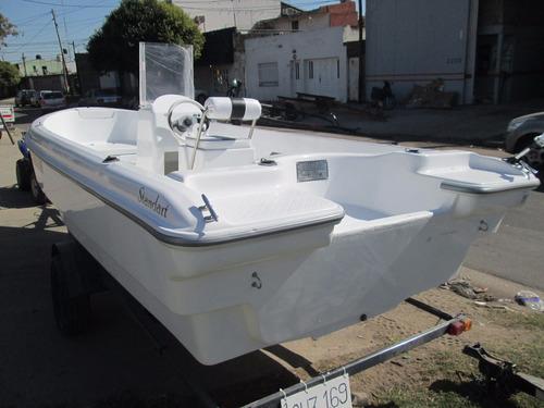 lancha tracker albatros 530 standart matrizada financio