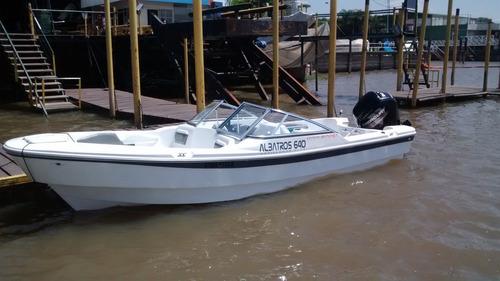 lancha tracker albatros 640 open sport matrizada