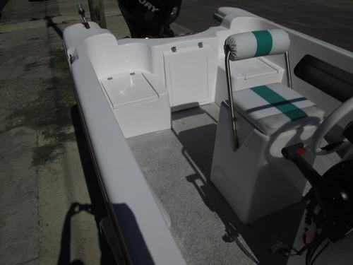 lancha tracker albatros 640 standart 2018 financiacion