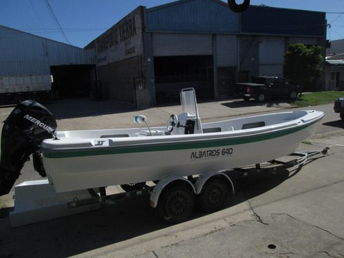 lancha tracker albatros 640 standart  financiacion