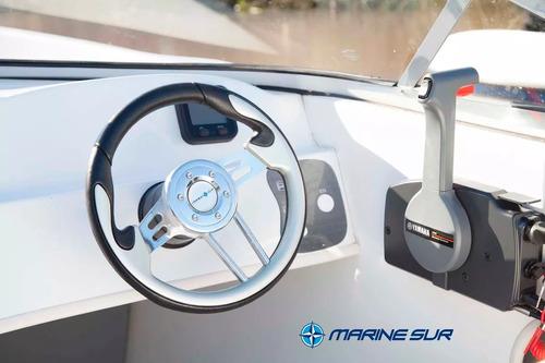 lancha tracker aquamarine  5300 60 o 90hp full accesorio
