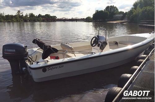 lancha tracker bermuda safari 550 con motor yamaha 40 hp