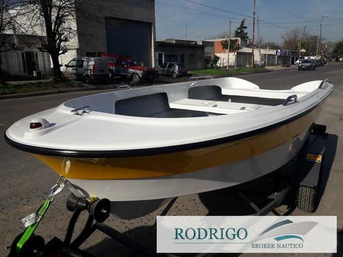lancha tracker bote 380 con trailer # oferta de noviembre #