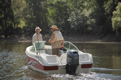 lancha tracker campanili ct 520 con yamaha 40 hp 2 t 0 km