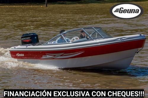lancha tracker geuna gt 540 con evinrude 40 hp 2 t dsl nueva