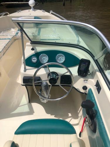 lancha tracker trakker 520 open + mercury 40 hp 4 tiempos
