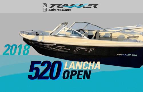 lancha tracker trakker 520 open nuevo modelo
