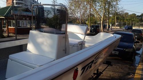 lancha tracker trakker 625 pescador + mercury 60 hp 4t full