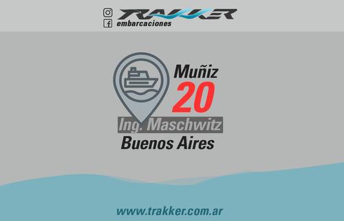 lancha tracker trakker 910 cabinado nueva 2020