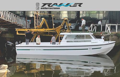lancha tracker trakker 910 cabinado nueva