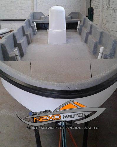 lancha traker costero 620 base / consola central