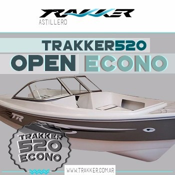 lancha trakker 520 open econo