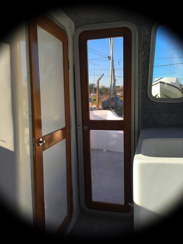 lancha trakker 625 cabinado