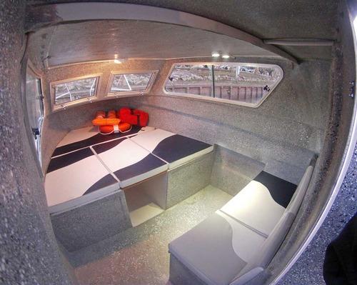 lancha trakker 760 cabinado