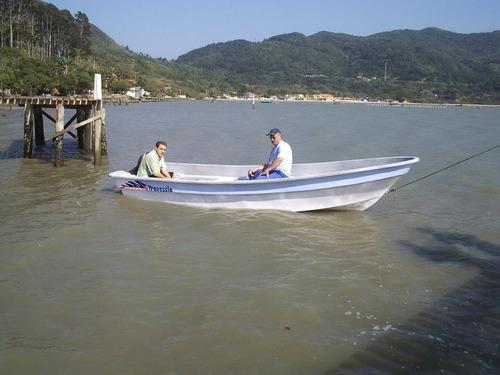 lancha travessia 5.20 con mercury 25 hp