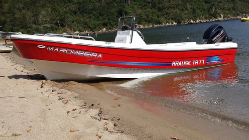 lancha travessia 6.30  con mercury 40 hp