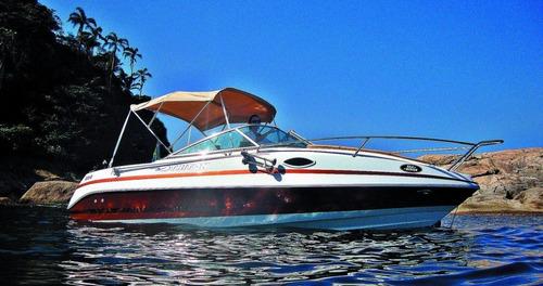 lancha triton 200 cabinada mercury 115hp 4 tempos