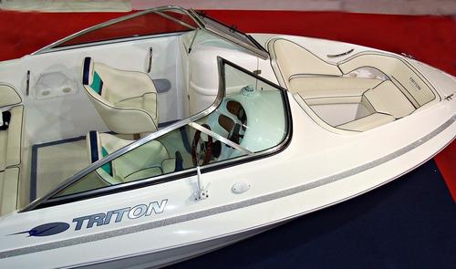 lancha triton 200 open com motor mercury 115 pro xs