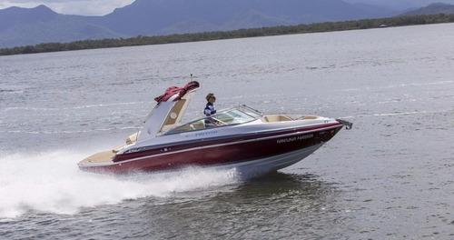 lancha triton 250 open - mercruiser 220hp gas alpha one