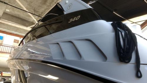 lancha triton 340 2 x 220 diesel super oportunidade inverno