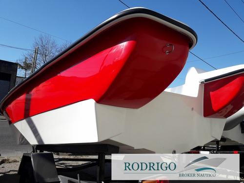 lancha trucker bote pescador 490 # oferta de noviembre #