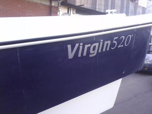 lancha trucker virgin marine 520 - parsun 40hp 2t a/e ngpaz