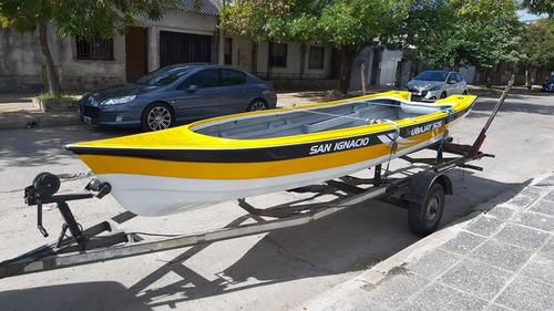 lancha ubajay 505 oferta contado $73000 sin trailer