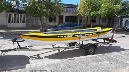 lancha ubajay 505 u$s 1250 sin trailer