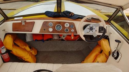 lancha usada garcia y defino tonina motor mercruiser 140 hp