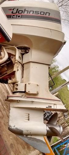 lancha usada regnicoli r 490 con motor johnson v4 de 140 hp