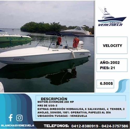 lancha velocity 21 lv256