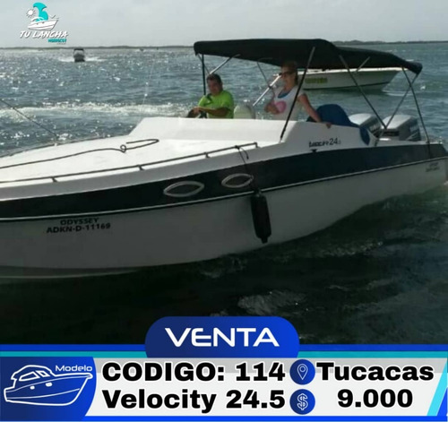 lancha velocity 24.5