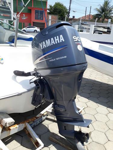 lancha ventura 19 - motor  f90 yamaha