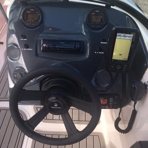lancha ventura 195, yamaha 115hp 4 tempos - marina atlântica