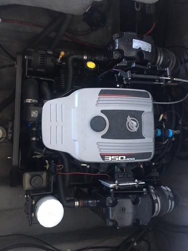 lancha ventura 265 c/ motor mercruiser  5.7l 300 hp ano 2012