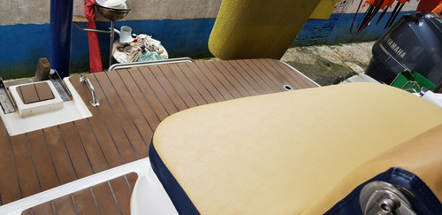 lancha ventura 265 cabinada 2014 mercruiser 300hp 13 pessoas